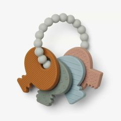 Kay Key Teether in Multi Mix