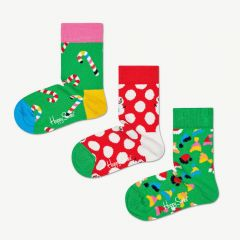 Holiday Gift Box in Multicolored, Pack of 3