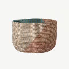 Seagrass Basket in Multicolor