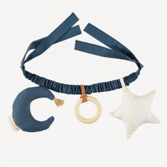 Star & Moon Pram Chain