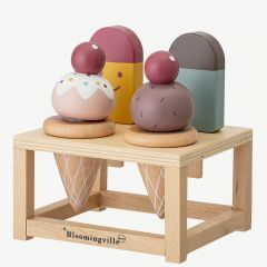 Icecream Food Play Set in Multicolor