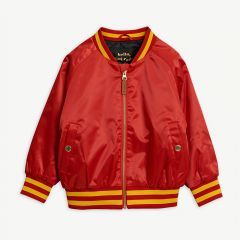 Panther Baseball Jacket in Red