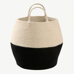 Basket Zoco in Natural&Black
