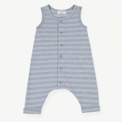 PIET Overall in Light Blue/White