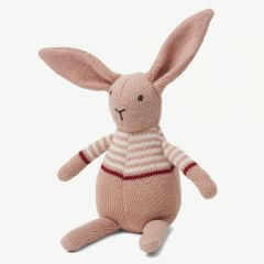Vigga Knit Mini Teddy in Rabbit rose