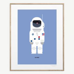 "LE DUO Solo ""Neil Armstrong"" Poster"