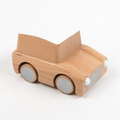 Plain Wooden Car