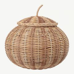 Basket with Lid in Nature