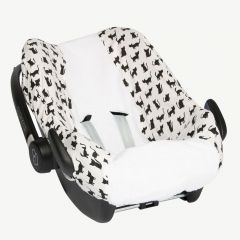 Car Seat Cover with Cat Print
