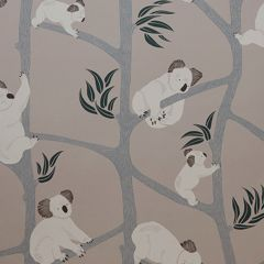 Koala Wallpaper in Grey