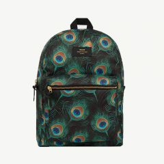 Peacock Backpack in Green