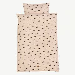 """Rabbit"" Rose Baby Bedding with Rabbit Print"