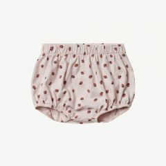 Strawberry Bloomer Babyhose in Lila