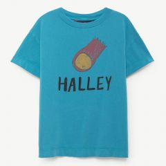"""Rooster"" T-Shirt in Blau"