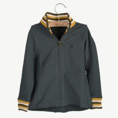 Track Jacket Mickey in Pirate Black