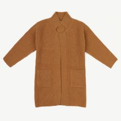 Cardigan in Ocker