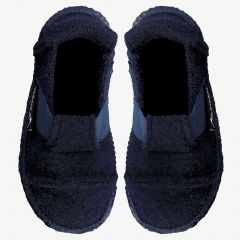 "Navy ""Berg"" Slippers"