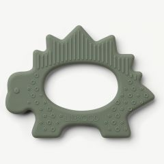 Gemma Teether Dino in Faune Green