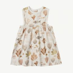 Sea Life Layla Dress in Ivory