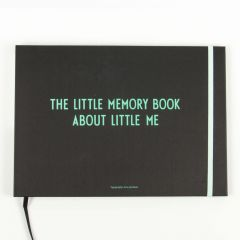 """The little memory book about little me"" in Türkis"
