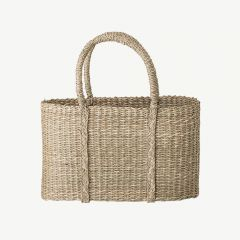 Seagrass Basket in Nature