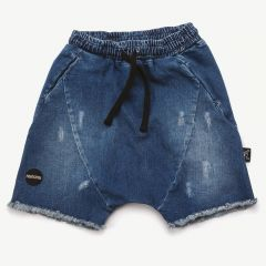 Jeans Shorts in Blau