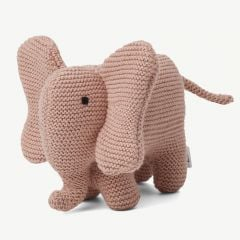 """Vigga"" Mini Strick-Elefant in Rosa"