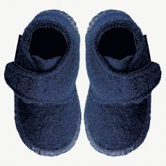 "Navy ""Leila"" Slippers"