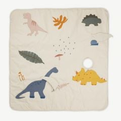Glenn Activity Blanket with Dino Mix Print