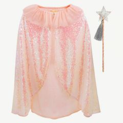 Iridescent Sequin Dress Up in Pink