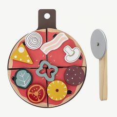 Pizza Food Play Set in Multicolor