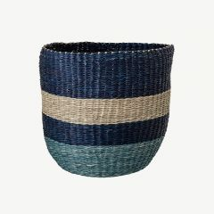 Seagrass Basket in Blue