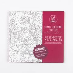"""""""Germany"""" Giant Coloring Poster"""