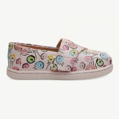 Alpargata Espadrilles with Donut Print in Pink