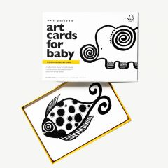 """""""Original"""" Black and White Art Cards with Animal Motifs"""