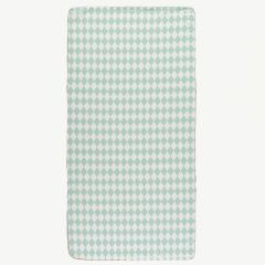 Saint Tropez Matress in Green Diamonds