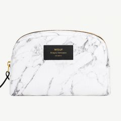 White Marble Beauty Bag