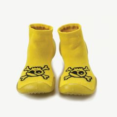 New Skull Slippers in Dusty Yellow