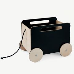 Toy Chest on Wheels with Blackboard