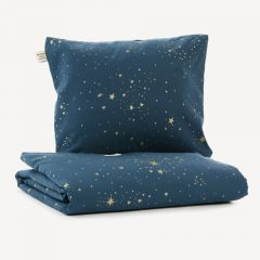 Himalaya Duvet Single in Gold Stella/Night