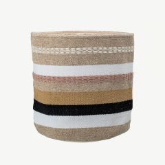 Wool Basket in Multicolor