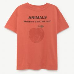 """""""Rooster"""" T-Shirt in Rot"""