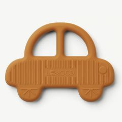 Gemma Teether Car in Mustard