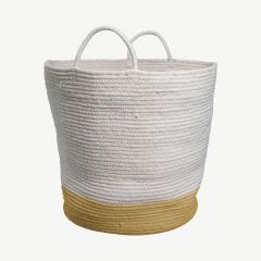 Rope Basket in Ochre (Large)