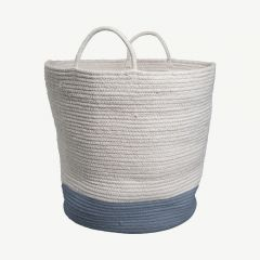 Rope Basket in Blue Spruce (Large)