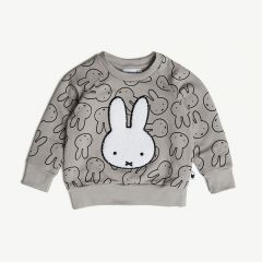 x Miffy Pullover in Grau