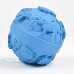 Blue World Ball for Play Time and Bath Time