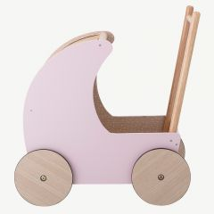 Rose Wooden Toy Pram