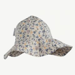 Amelia Sun Hat with Coral Floral/Mix Print