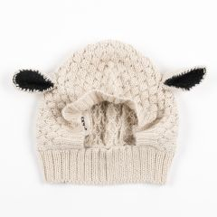 White Sheep Animal Hat